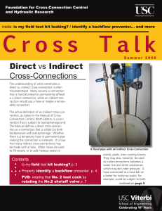 Direct Cross-Connections