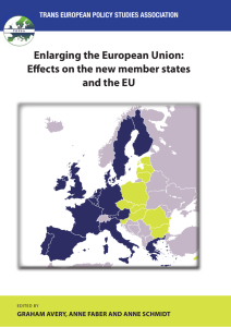 Enlarging the European Union: Effects on the new member states