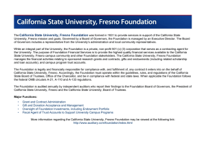California State University, Fresno Foundation
