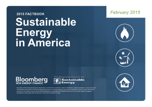 Sustainable Energy in America February 2015