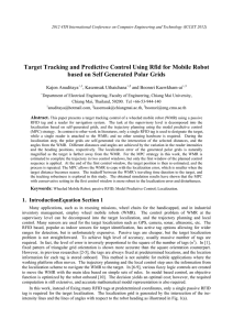 Target Tracking and Predictive Control Using Rfid for Mobile Robot