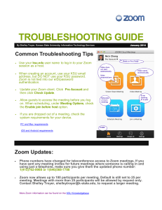 TROUBLESHOOTING GUIDE Common Troubleshooting Tips