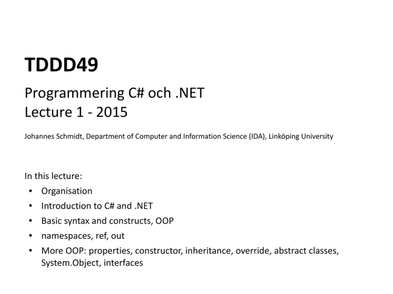 Tddd49