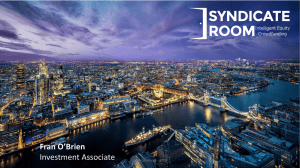 Fran O'Brien Investment Associate SyndicateRoom - 2015 1