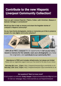 Contribute to the new Hispanic Liverpool Community Collection!
