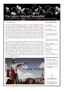The Luxury Network Newsletter