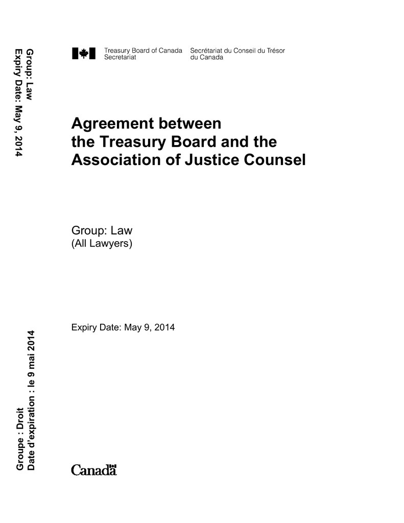 Calcul Salaire Net Québec >> Agreement Between The Treasury Board And The Association Of