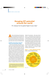 A Gauging ICT potential around the world
