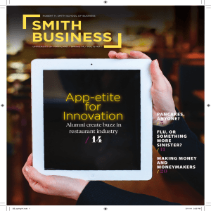 SMITH BUSINESS App-etite for