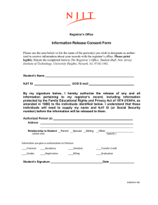 Information Release Consent Form