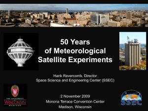 50 Years of Meteorological Satellite Experiments