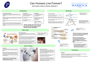 Can Humans Live Forever?