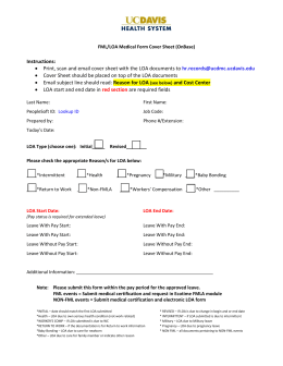 Instructions: • Print, scan and email cover sheet with the LOA... • Cover Sheet should be placed on top of the...
