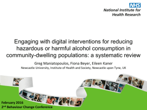 Engaging with digital interventions for reducing community-dwelling populations: a systematic review