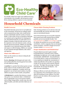 Eco-Healthy Child Care helps early childhood learning