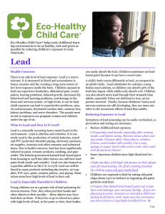 Eco-Healthy Child Care helps early childhood learn-