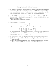 Challenge Problems for SSEA 51, Homework 3