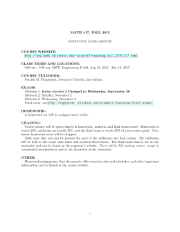math 1210 quiz outline Quiz: quizzes (x8) formal examination: examinations in term test: in class test 1 - on calculus in term test: in class test 2 - differential equations contact hours.