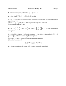 Mathematics 466 Homework (due Sep. 19) 11) 12)