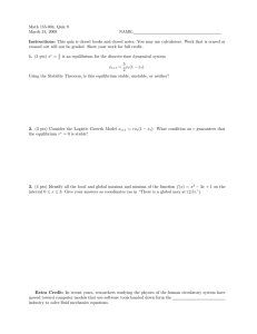 Math 155-004, Quiz 9 March 31, 2009 NAME: