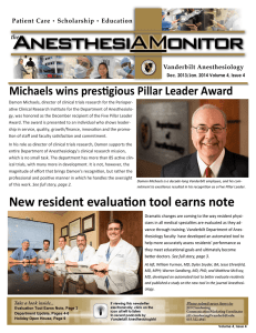 Michaels wins pres gious Pillar Leader Award
