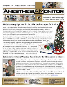 Holiday campaign results in 100+ stethoscopes for Africa