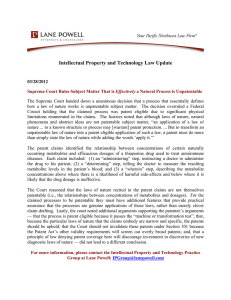 Intellectual Property and Technology Law Update