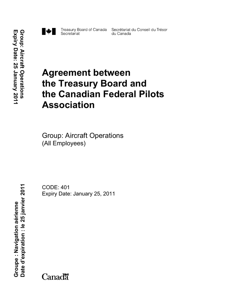 Calcul Salaire Net Québec >> Agreement Between The Treasury Board And The Canadian