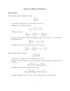 Math 115 HW #3 Solutions From §12.2