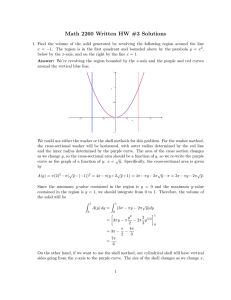 Math 2260 Written HW #3 Solutions