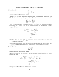 Math 2260 Written HW #12 Solutions