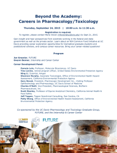 Beyond the Academy: Careers in Pharmacology/Toxicology