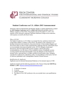 Student Conference on U.S. Affairs 2015 Announcement