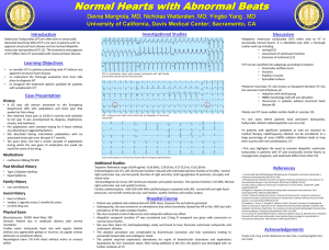 Normal Hearts with Abnormal Beats Introduction