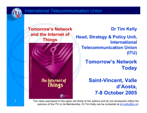 Tomorrow's Network Today Saint-Vincent, Valle d'Aosta,