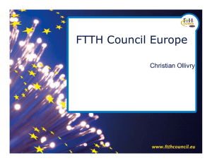 FTTH Council Europe Christian Ollivry