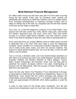 Multi-National Financial Management