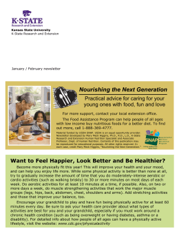 Nourishing the Next Generation Practical advice for caring for your