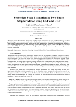 Sensorless State Estimation in Two-Phase Stepper Motor using EKF and UKF