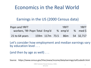 Economics in the Real World
