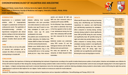 CHRONOPHARMACOLOGY OF VALSARTAN AND AMLODIPINE