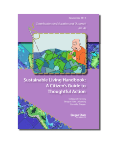 Sustainable Living Handbook: A Citizen's Guide to Thoughtful Action