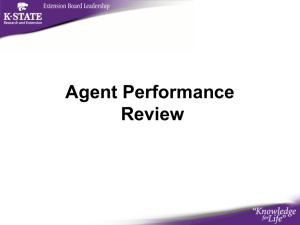 Agent Performance Review