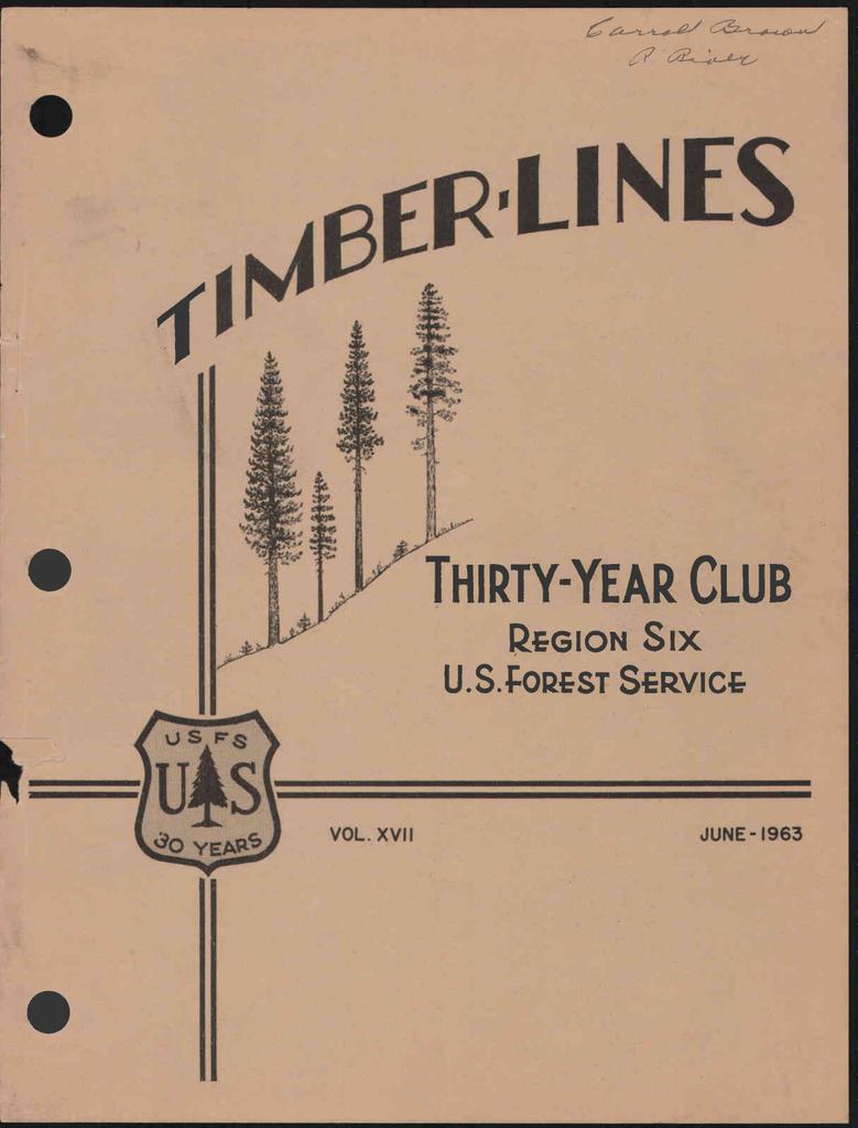 de6ea87145326 PGION Six THIRTY-YEAR CLUB U.S.cOPST SvIcGr JUNE -1963