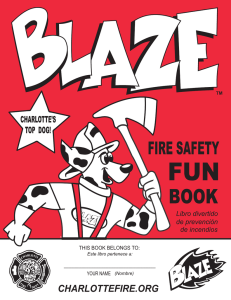 FUN BOOK FIRE SAFETY CHARLOTTEFIRE.ORG