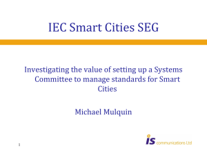 IEC Smart Cities SEG