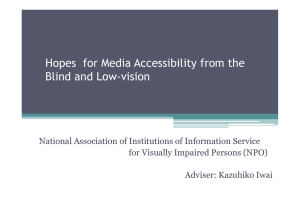 Hopes! for Media Accessibility from the  Blind and Low-vision