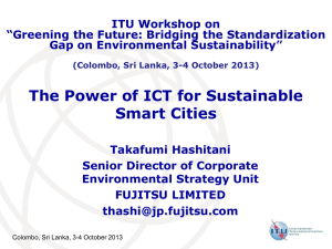 The Power of ICT for Sustainable Smart Cities
