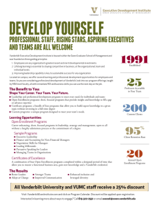 DEVELOP YOURSELF  1991 PROFESSIONAL STAFF, RISING STARS, ASPIRING EXECUTIVES