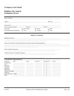 Michigan Building Code Certificate Of Occupancy